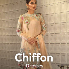 Chiffon Dresses Online Shopping in Pakistan