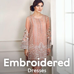 Embroidered Dresses Online Shopping in Pakistan