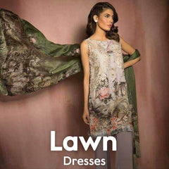 Lawn Dresses Online Shopping in Pakistan