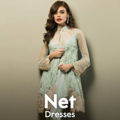 Net Dresses Online Shopping in Pakistan