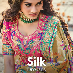 Silk Dresses Online Shopping in Pakistan