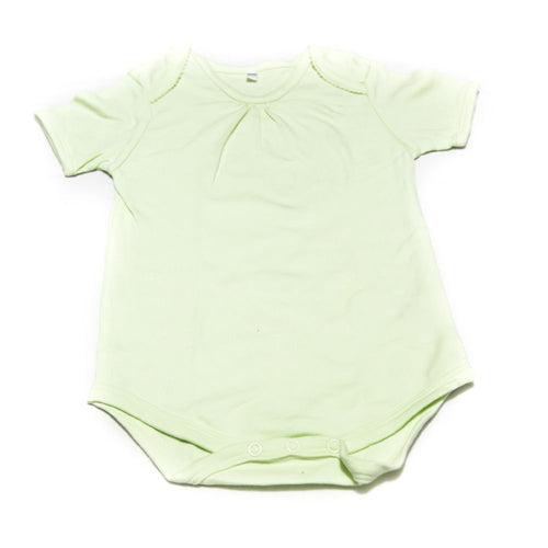 Newborn Baby Girls Romper Bodysuit For 18 To 24 Month Kids – Green - Romper - diKHAWA Online Shopping in Pakistan