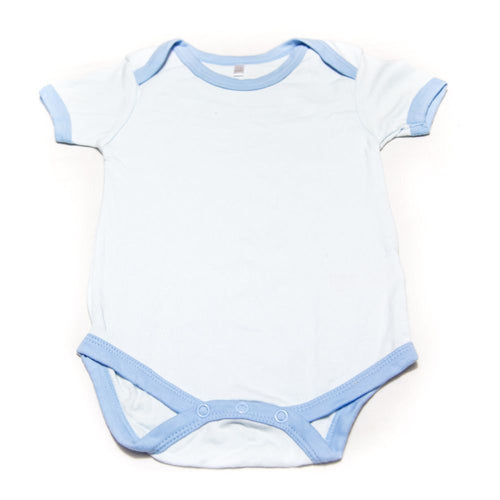 Newborn Baby Boys Girls Romper Baby Suits For 6 To 12 Month Kids – Sky Blue - Romper - diKHAWA Online Shopping in Pakistan