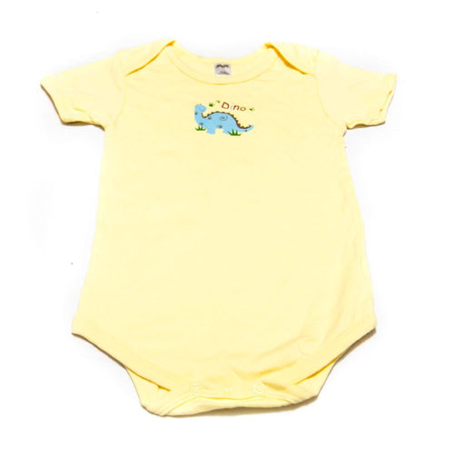 Newborn Baby Boys Girls Romper Baby Suits For 9 To 12 Month Kids – Yellow - Romper - diKHAWA Online Shopping in Pakistan