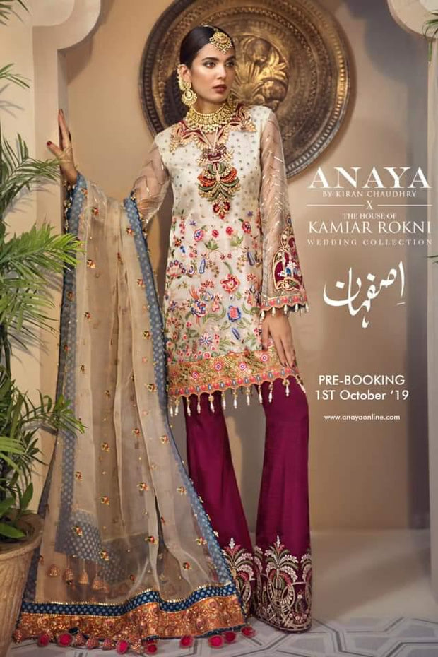 Aanya by kiran Chudarhy luxury Chiffon  Collection