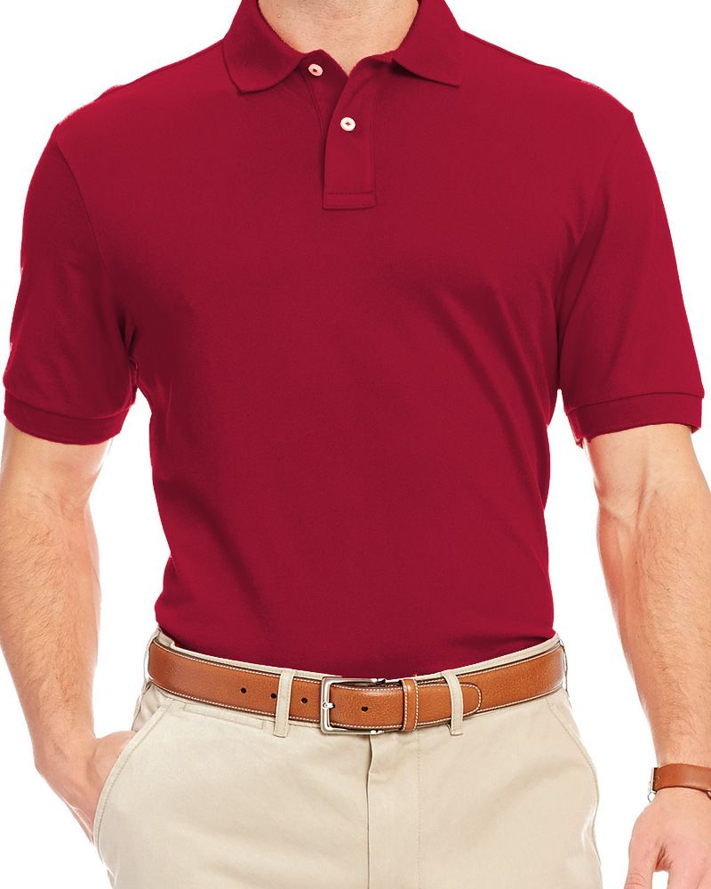 Pull & Bear Branded Polo T-Shirt For Mens - Red Polo Branded T-Shirts