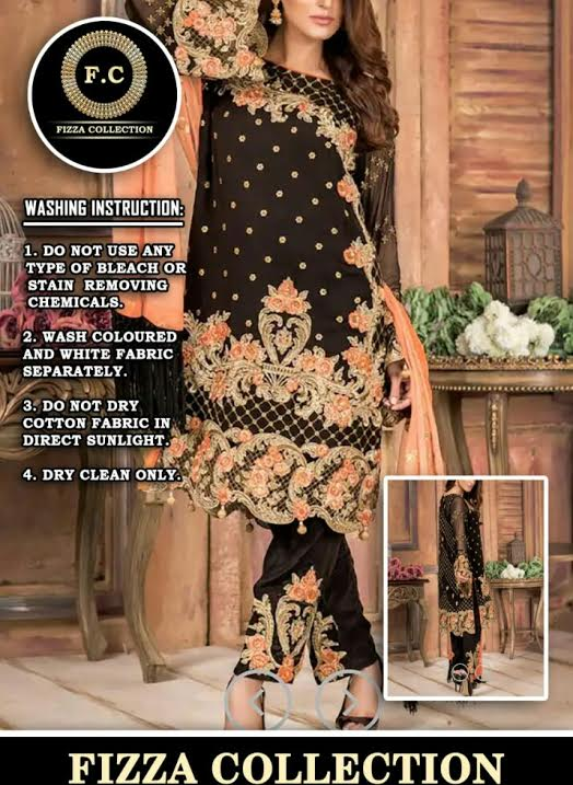 Ayesha Khan LUXURY CHIFFON COLLECTION BY   - Replica - Unstitched