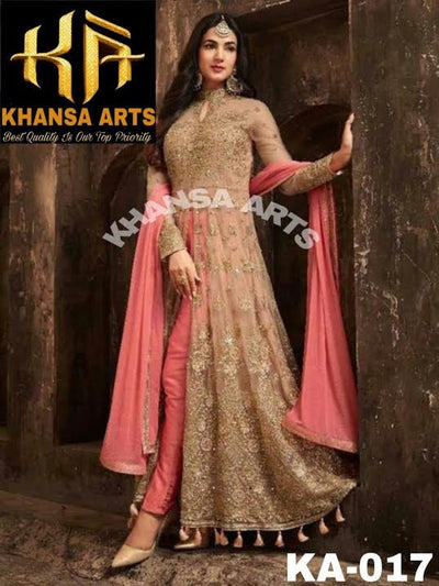 INDIAN FROCK BY KHANSA ARTS 2019- Replica - Unstitched