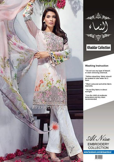 Baroque Jazmin Khaddar Collection -Replica - Unstitched