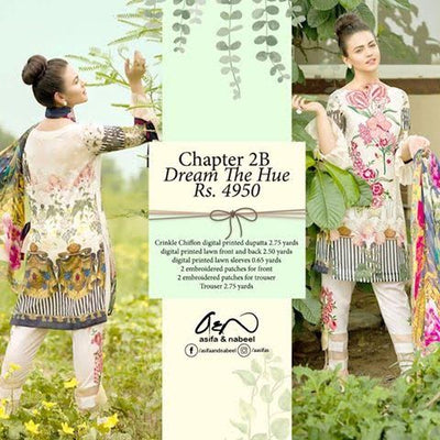 ASIFA&NABEEL Lawn Collection (Replica) (Unstitched)