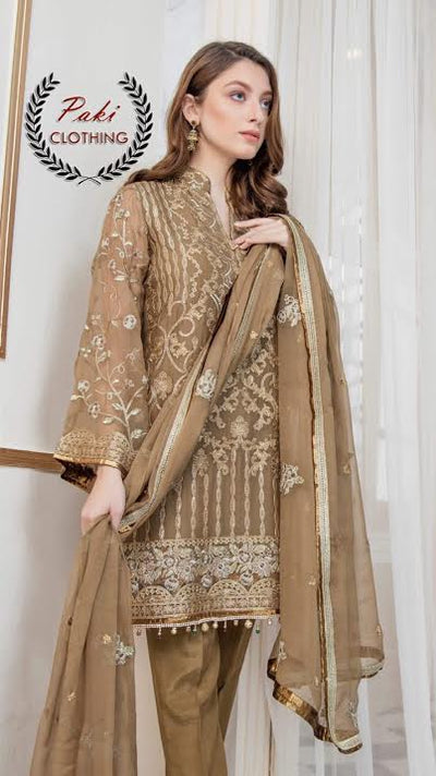 MARYAM N MARIA LUXURY CHIFFON COLLECTION NOW AVAILABLE  (Replica) (Unstitched)