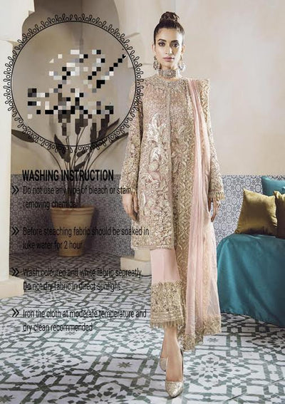 Paki Bridal Dresses Republic Women's Wear (Replica) (Unstitched)