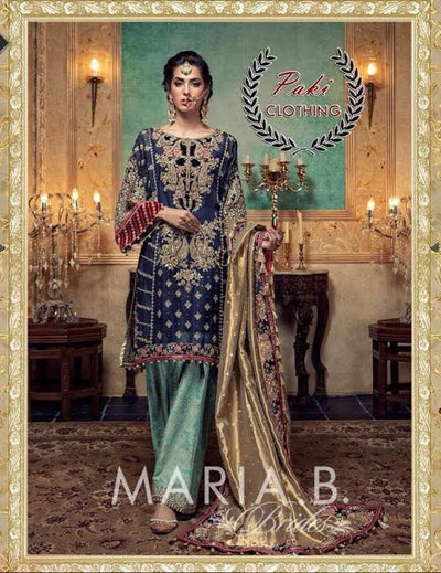 MARIA B LATEST LUXURY COLLECTION NOW AVAILABLE   (Replica) (Unstitched)