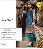 Most Demanding MARIA B Winter Collection- Replica - Unstitched