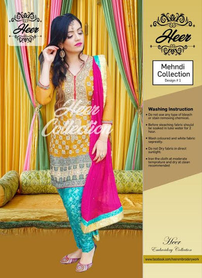 Heer collection presents (Replica) (Unstitched)