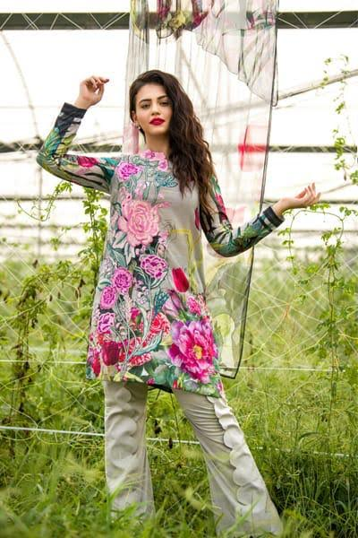 ASIFA&NABEEL Lawn Collection -Replica -Unstitched,
