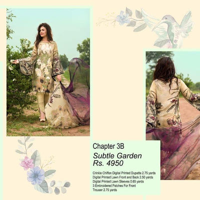 ASIFA&NABEEL(Lawn Collection) (Replica) (Unstitched)