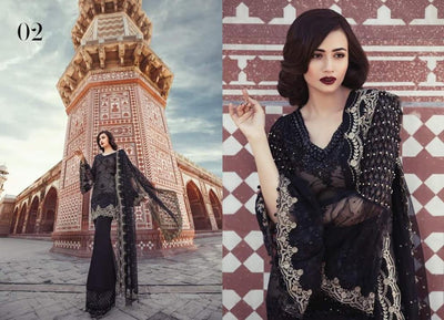 Maria B Eid Collection  -Replica -Unstitched,