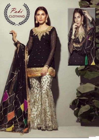 Rozina Munib Eid Collection2019  (Replica) (Unstitched)