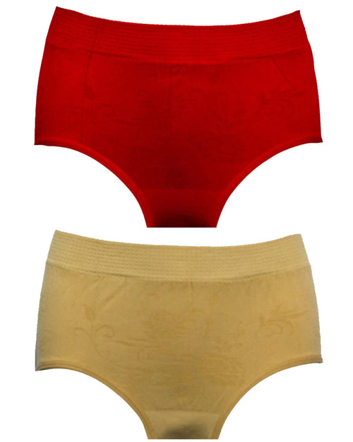 Pack Of 2 Panties In Multicolour For Women's 2917 - Best For Ladies