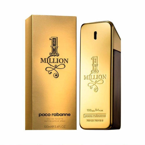 Buy 1 Million By Paco Rabanne For Men – 100ml Online in Karachi, Lahore, Islamabad, Pakistan, Rs.{{amount_no_decimals}}, Mens Perfume Online Shopping in Pakistan, Paco Rabanne, 1st Copy, Accessories, Color = Golden, Men, Perfumes, Size = 100ml, Online Shopping in Pakistan - diKHAWA Fashion