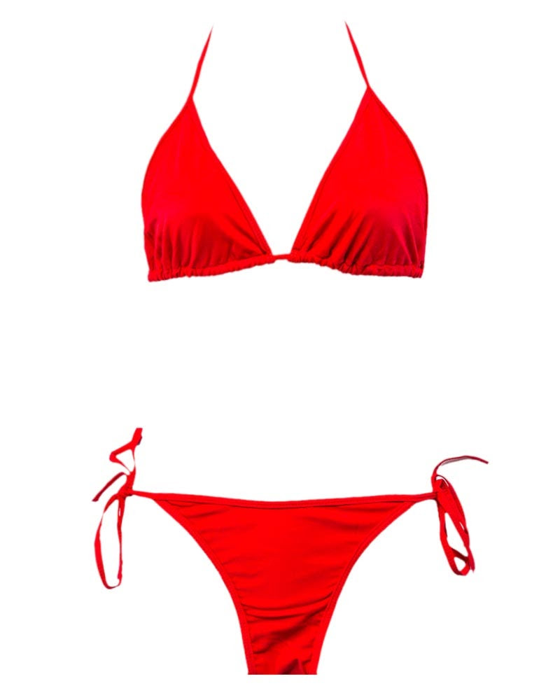 Sexy Bikini In Red - Sexy Swimwear - Thailand Brand