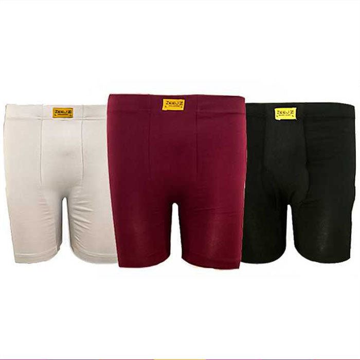 PACK OF 3 BRANDED BOXERS FOR HIM BY ZEEJ - Boxers - diKHAWA Online Shopping in Pakistan