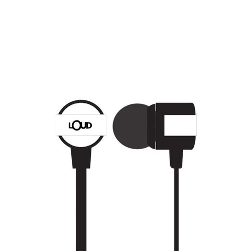 Loud EPM400 - Go Fit Wired Earphone - Black