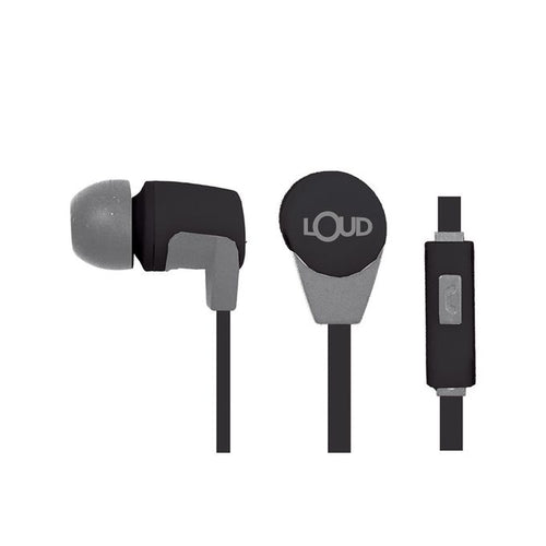 Loud Go Fit EPM 320 In-Ear Wired Earphone - Black