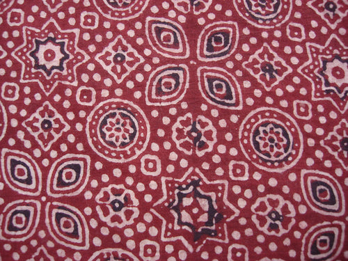 Shirt handblock printed fabric