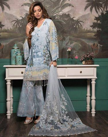 RANG RASIYA LAWN SUIT (Replica) (Unstitched)