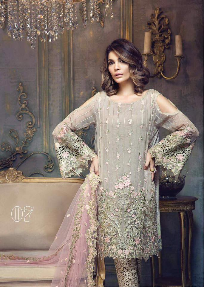 Ayra Chiffon Suit - Market Place - diKHAWA Online Shopping in Pakistan