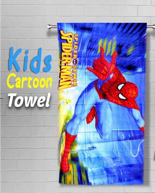 TOWELS - SPRIDERMAN HORIZONTAL - COLOR RED
