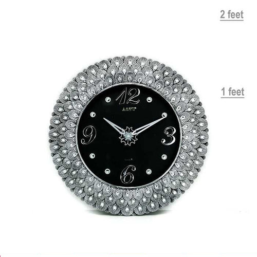 Aoyu Round Wall Clock - Wall Clocks - diKHAWA Online Shopping in Pakistan