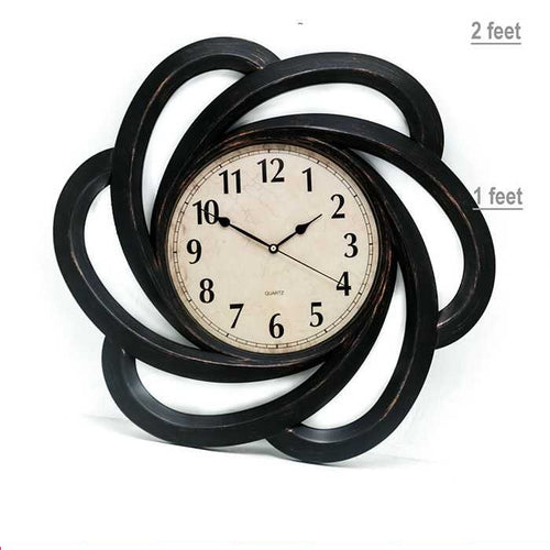 Quartz Fancy Wall Clock - Wall Clocks - diKHAWA Online Shopping in Pakistan