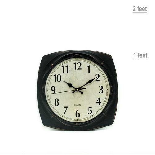 Quartz Square Wall Clock - Wall Clocks - diKHAWA Online Shopping in Pakistan