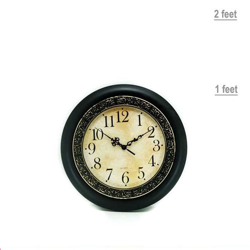 Quartz Round Wall Clock - Wall Clocks - diKHAWA Online Shopping in Pakistan