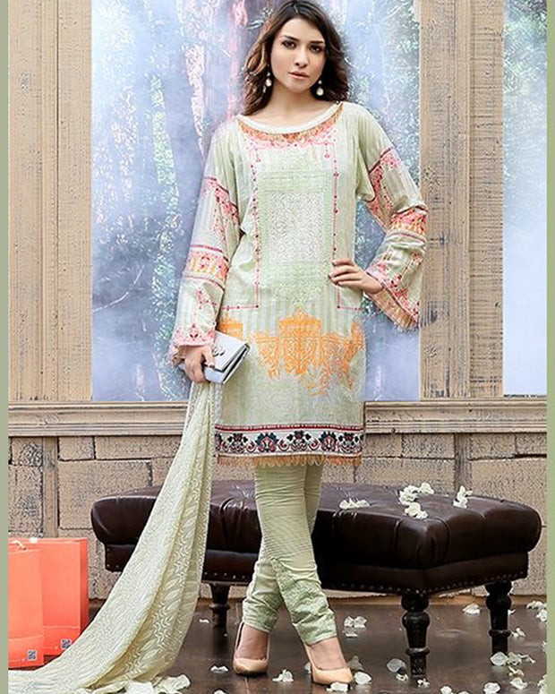 FAUSTINA By SALITEX Chicken Kari Collection - 128-A (Replica)(Unstitched)