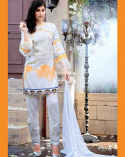 FAUSTINA By SALITEX Chicken Kari Collection - 128-B (Replica)(Unstitched)