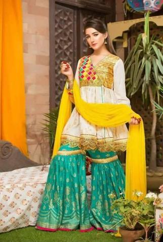 NOMI ANSARI LAWN SUIT _ Replica _ Unstitched,