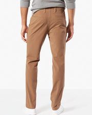 Mens Cotton Dress Pants By Dockers - Brown Cotton Formal Dress Pants