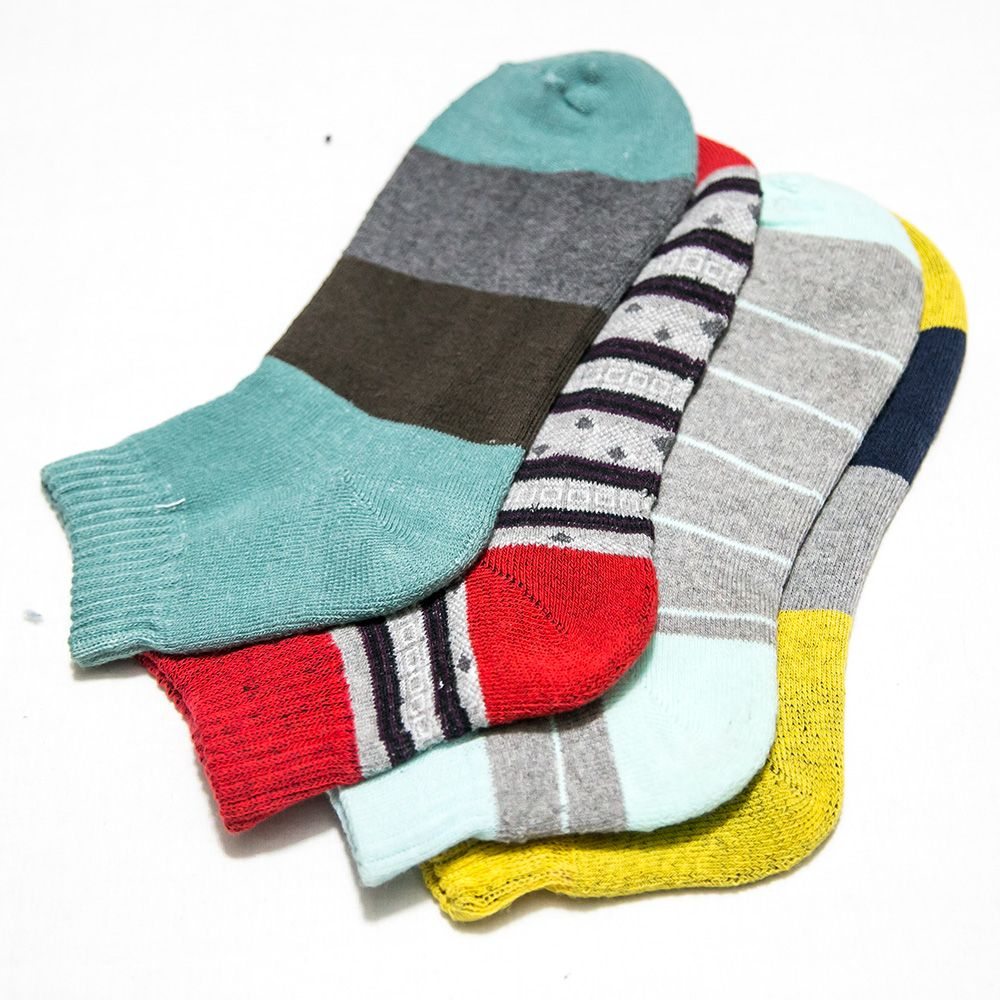 Pack of 3 Ankle Socks Value Pack - KL-01 - Kids Socks - diKHAWA Online Shopping in Pakistan