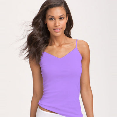 Fancy Colourful Camisole for Girls - Purple - Camisole - diKHAWA Online Shopping in Pakistan