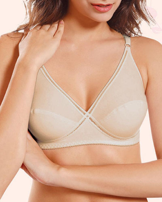 Angel Bra - Flourish - Non Padded & Non Wired Bra