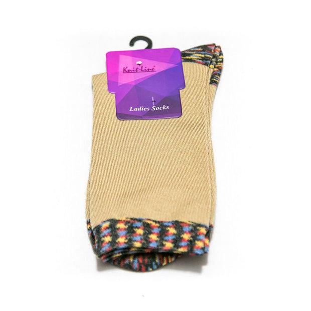 Comfort Ladies LDS Socks - KL-24 - Ladies Socks - diKHAWA Online Shopping in Pakistan
