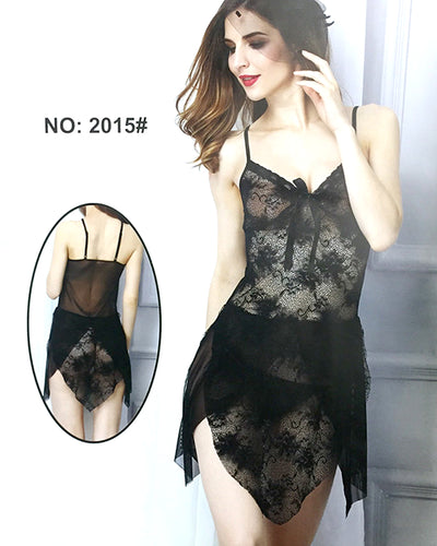 Sexy Cotton Net Short Nighty For Women - 2015#
