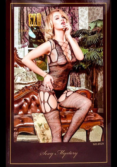 Spring Butterfly Bodystocking - 8929 - Body Stocking - diKHAWA Online Shopping in Pakistan