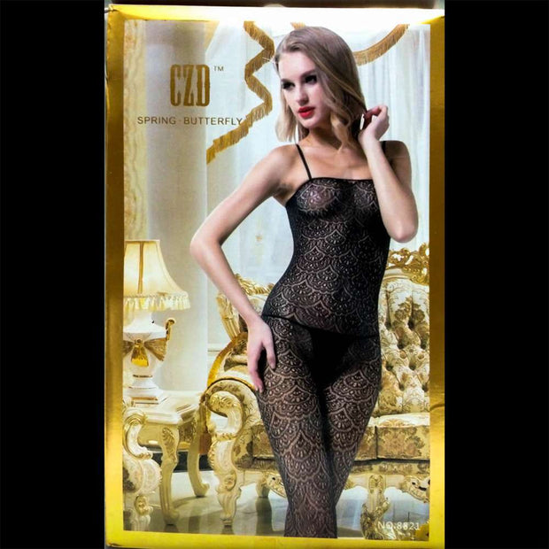 CZD Spring Butterfly 8821 - Body Stocking - diKHAWA Online Shopping in Pakistan