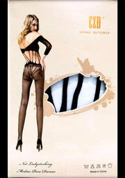 CZD Spring Butterfly 8806 - Body Stocking - diKHAWA Online Shopping in Pakistan