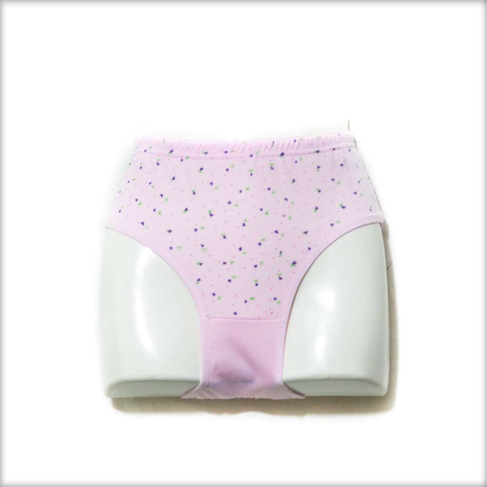 Pack of 2 Flower Dotted Panty - Cotton Jersey Panty - Mix Colours - Panty - diKHAWA Online Shopping in Pakistan